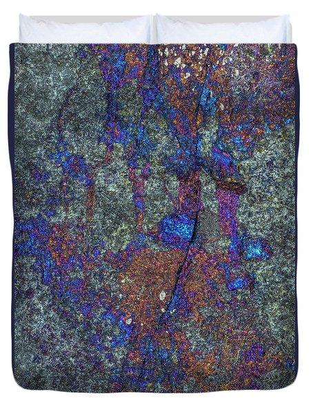 Earth Portrait 288 Duvet Cover