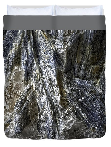 Earth Portrait Kyanite 001-089 Duvet Cover