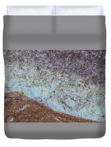 Earth Portrait L3 Duvet Cover