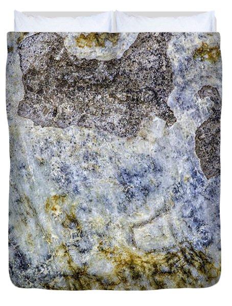 Earth Portrait L4 Duvet Cover