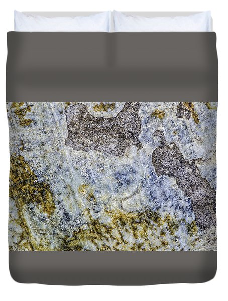 Earth Portrait L4 Duvet Cover
