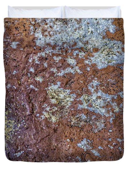 Earth Portrait L6 Duvet Cover