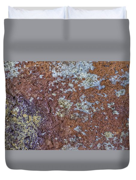 Earth Portrait L6 Duvet Cover