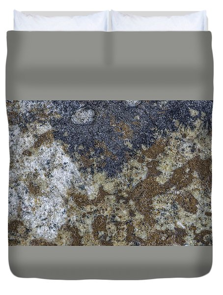 Earth Portrait L8 Duvet Cover