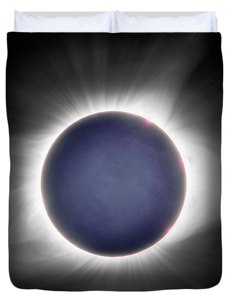 Earth-shine Duvet Cover