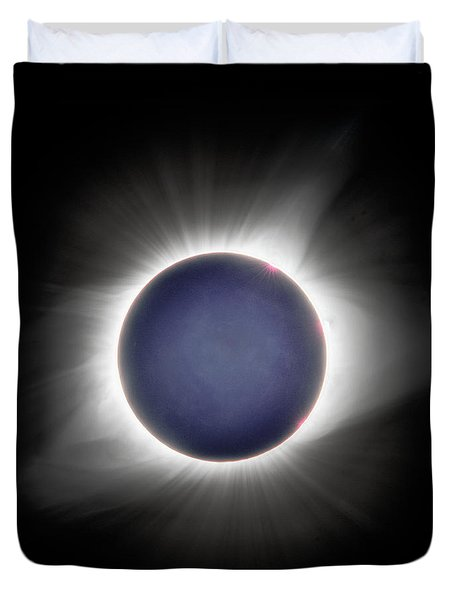 Earth-shine Duvet Cover