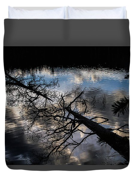 Earth To Water Duvet Cover