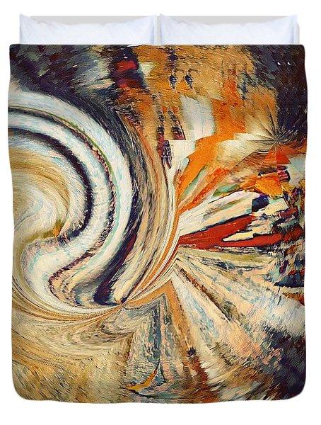 Earth Tones Duvet Cover