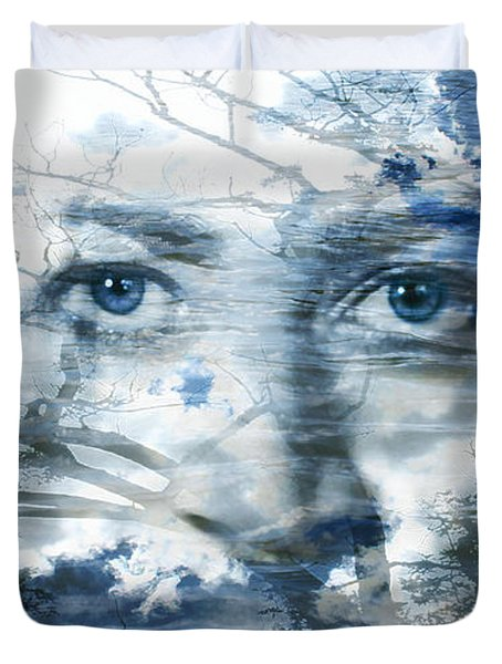 Earth Wind Water Duvet Cover