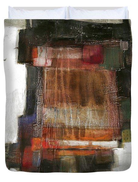 Orange Home Duvet Cover by Behzad Sohrabi