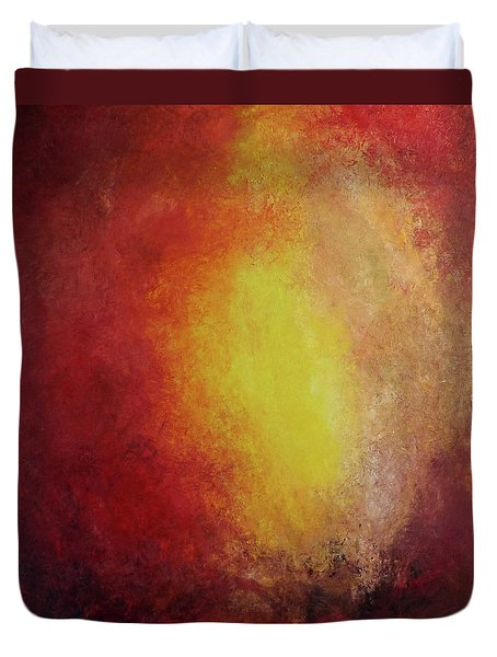 Earth's Heart IIi Duvet Cover