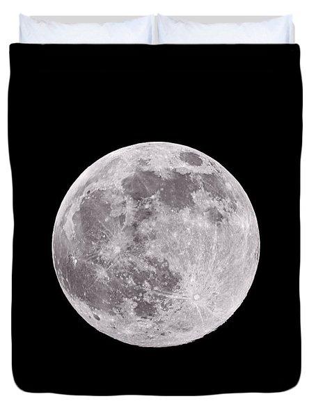Earth's Moon Duvet Cover
