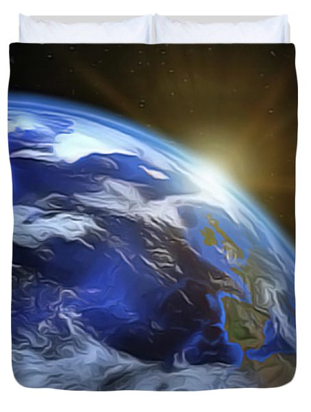 Earthview Duvet Cover