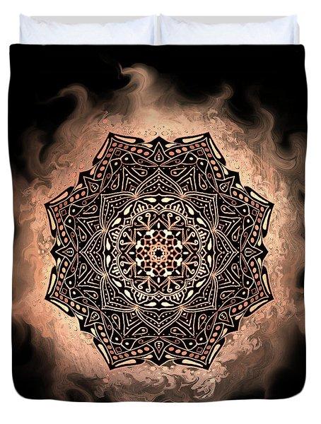 Earthy Mandala Duvet Cover