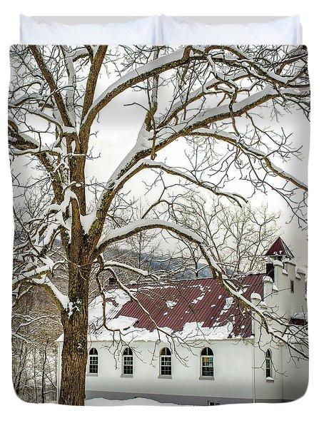 East Chapel Church Duvet Cover