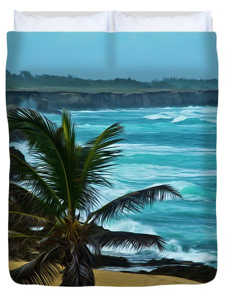 East Coast Bay Duvet Cover