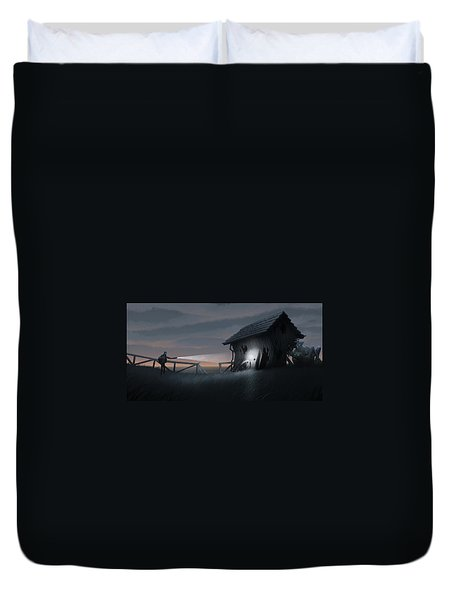 East Coast Fear Duvet Cover