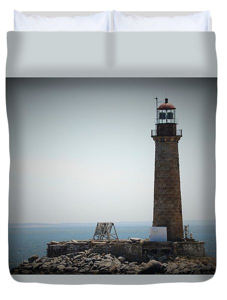 East Coast Lighthouse Duvet Cover