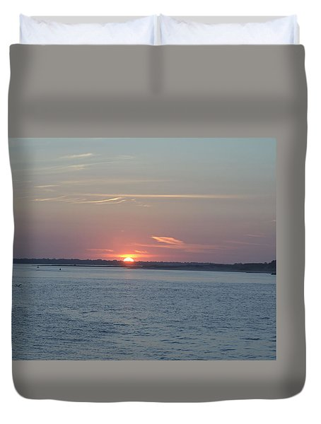 Duvet Cover featuring the photograph East Cut by Newwwman