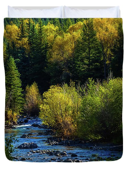 East Fork Autumn Duvet Cover