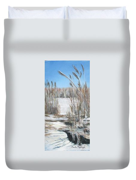 East Point Beach Duvet Cover