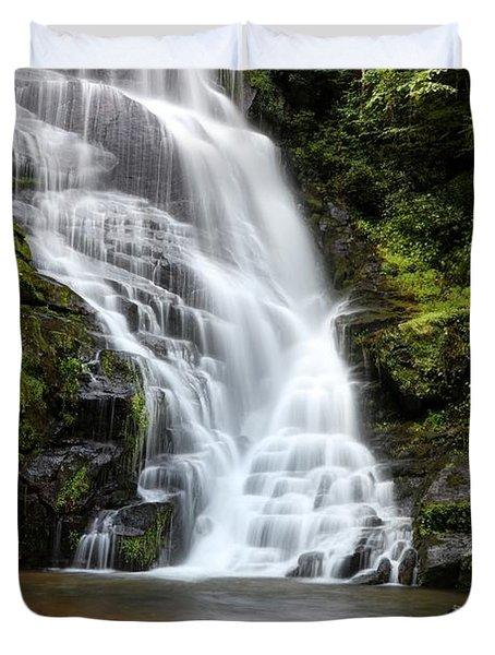 Eastatoe Falls Rages Duvet Cover