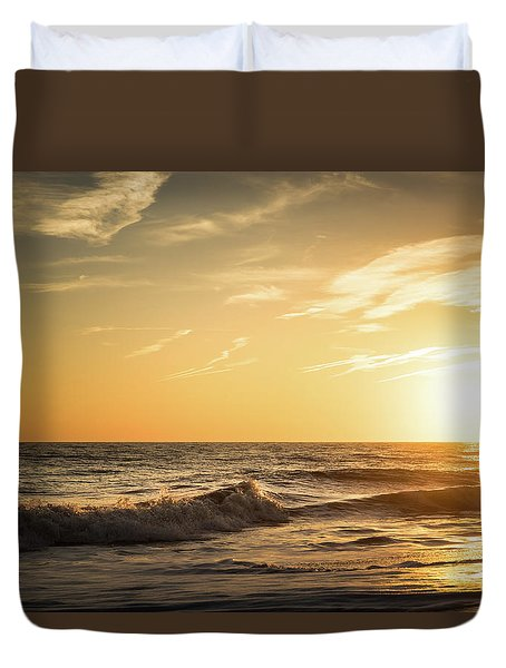Eastcoast Sunset Duvet Cover