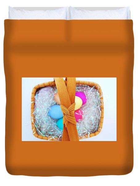 Easter Basket Duvet Cover