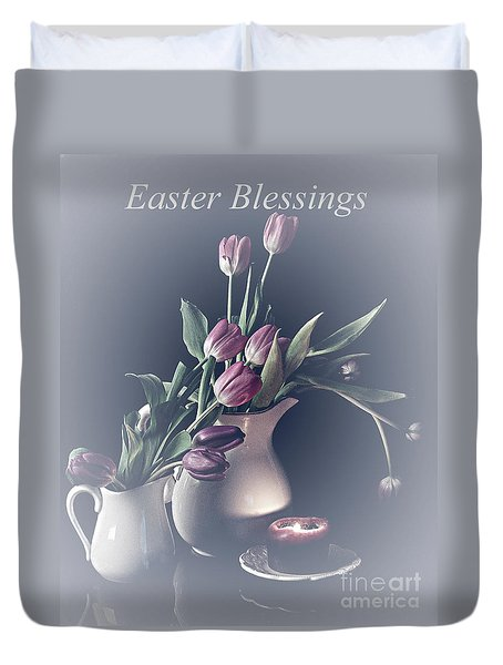 Easter Blessings No. 3 Duvet Cover