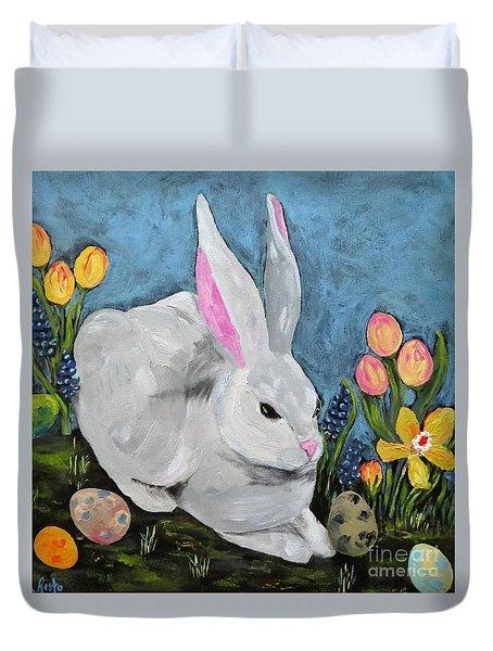 Easter Bunny  Duvet Cover
