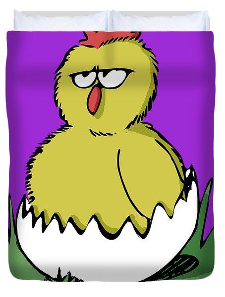 Easter Chicken Duvet Cover