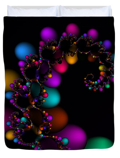 Easter Dna Galaxy 111 Duvet Cover