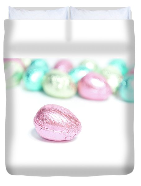 Easter Eggs II Duvet Cover