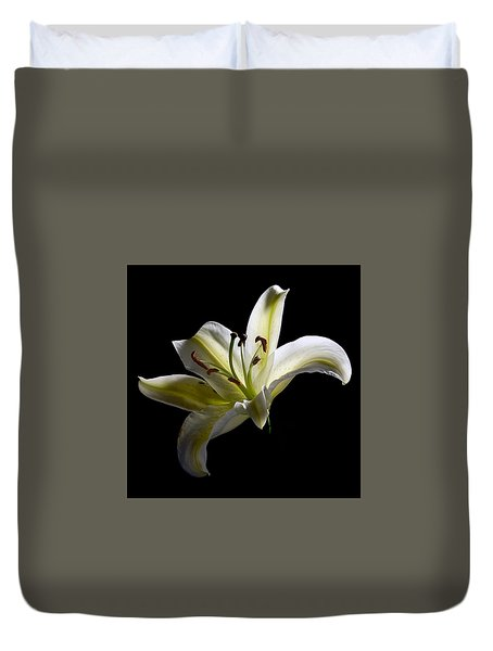 Easter Lily 2 Duvet Cover