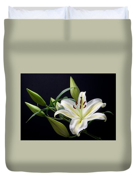 Easter Lily 3 Duvet Cover