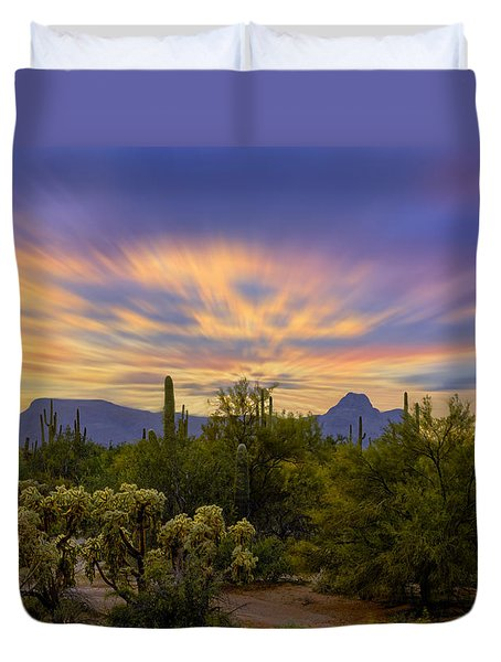Easter Sunset H18 Duvet Cover