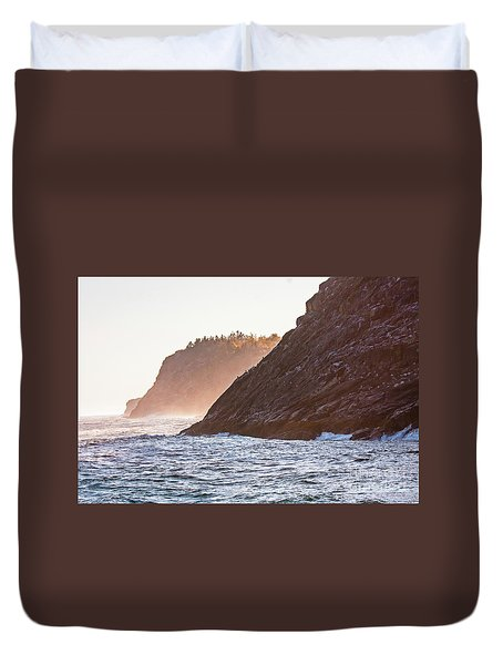 Eastern Coastline Duvet Cover