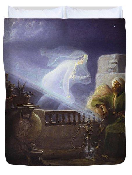 Eastern Dream Duvet Cover by Jean Jules Antoine Lecomte du Nouy