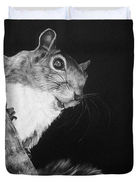 Eastern Gray Squirrel Duvet Cover