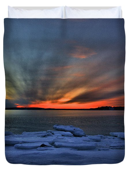 Eastern Lights  Duvet Cover