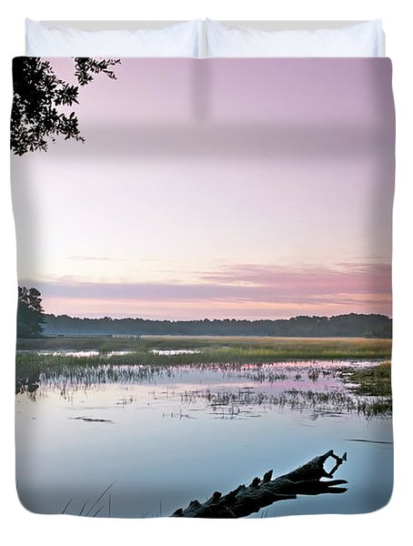 Eastern Morning Duvet Cover by Phill Doherty