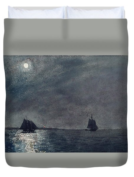 Eastern Point Light Duvet Cover