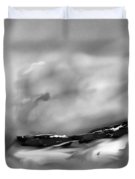 Eastern Sierra Impression Near Whiney Portal Road Duvet Cover