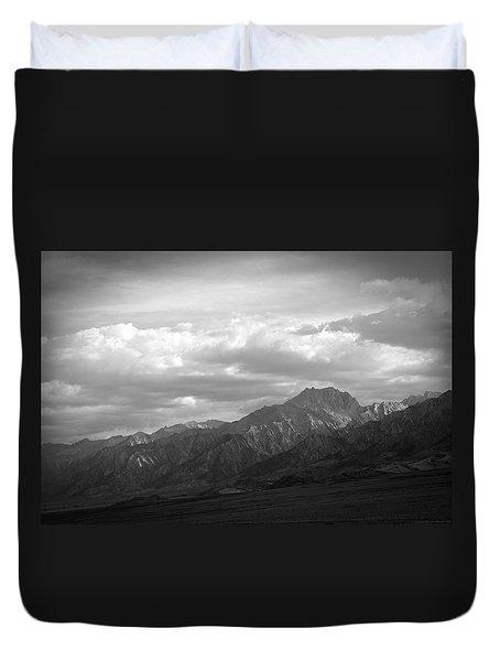 Eastern Slope Duvet Cover