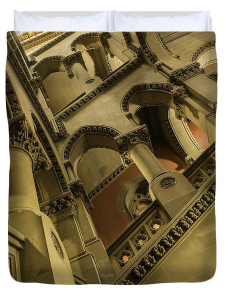 Eastern Staircase Duvet Cover