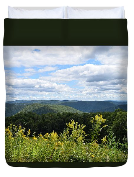 Eastern Summit 1 Duvet Cover