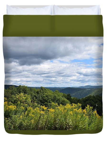 Eastern Summit 2 Duvet Cover