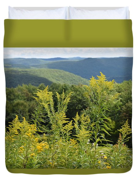 Eastern Summit 3 Duvet Cover