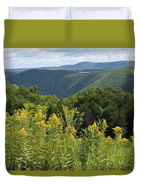 Eastern Summit 4 Duvet Cover