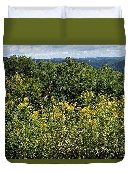 Eastern Summit 5 Duvet Cover